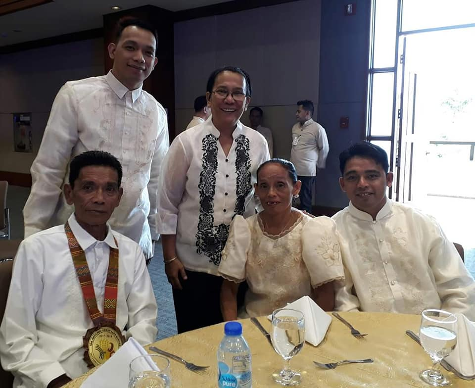 The Ympal Family is this year's Gawad Saka Awardee for Outstanding Farm Family